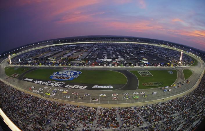 APTOPIX NASCAR Atlanta Auto Racing