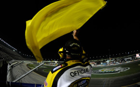 NASCAR CAUTION FLAG