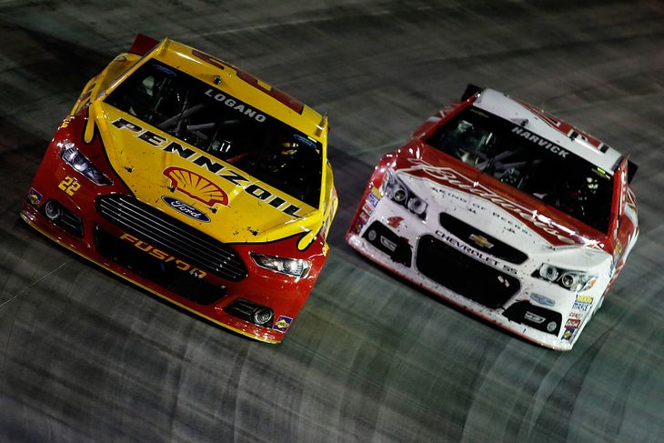 NASCAR KEVIH HARVICK JOEY LOGANO