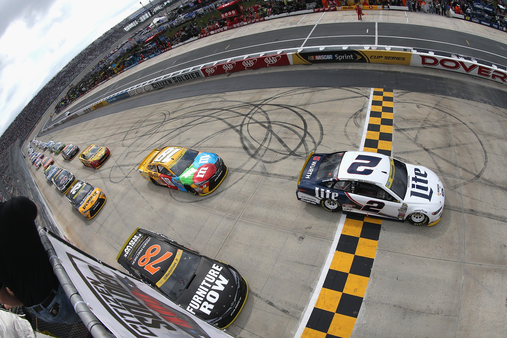 NASCAR Sprint Cup Series Citizen Solider 400