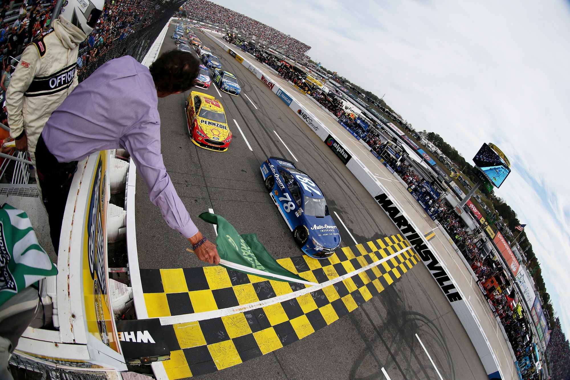 NASCAR Sprint Cup Series Goody's Fast Relief 500