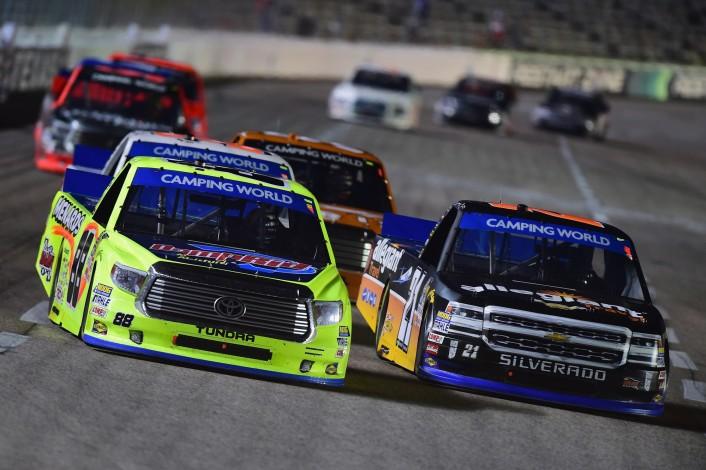 NASCAR Camping World Truck Series Striping Technology 350