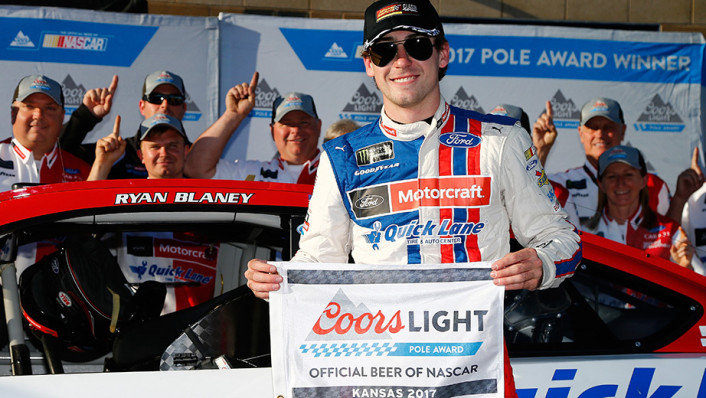2017-May12-Ryan-Blaney-pole-award