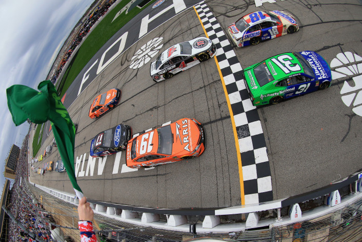Monster Energy NASCAR Cup Series Folds of Honor QuikTrip 500