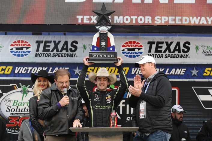 ryan-blaney-xfinity-texas-trophy