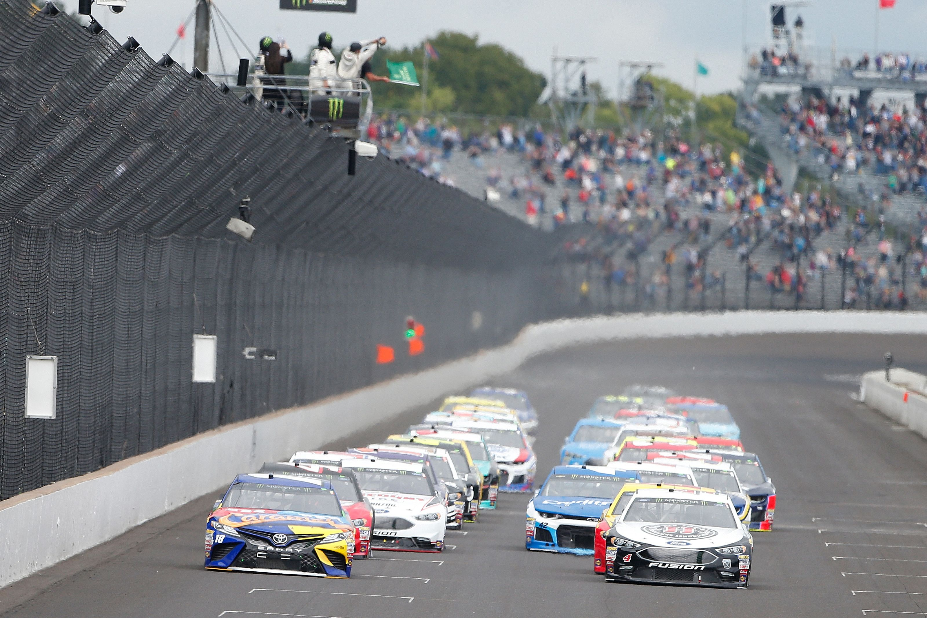 Monster Energy NASCAR Cup Series Big Machine Vodka 400 at the Brickyard
