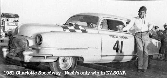 Curtis Turner, Nash, Charlotte Speedway